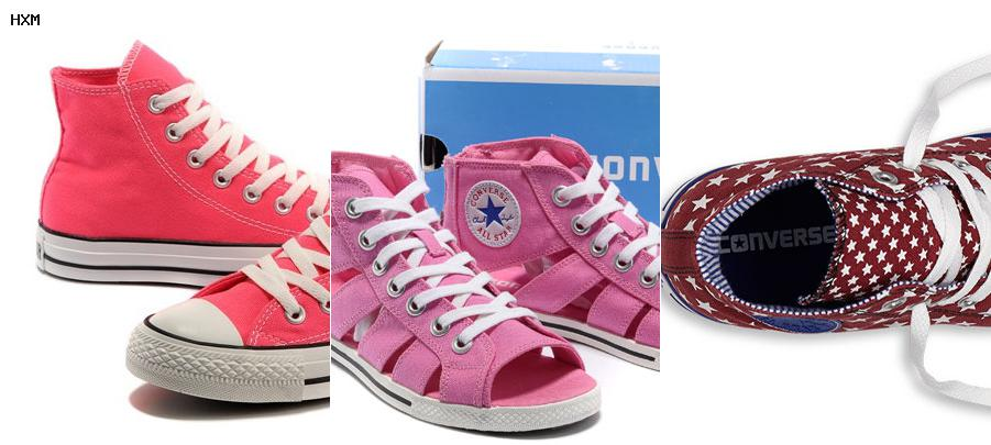 all star converse sans lacets