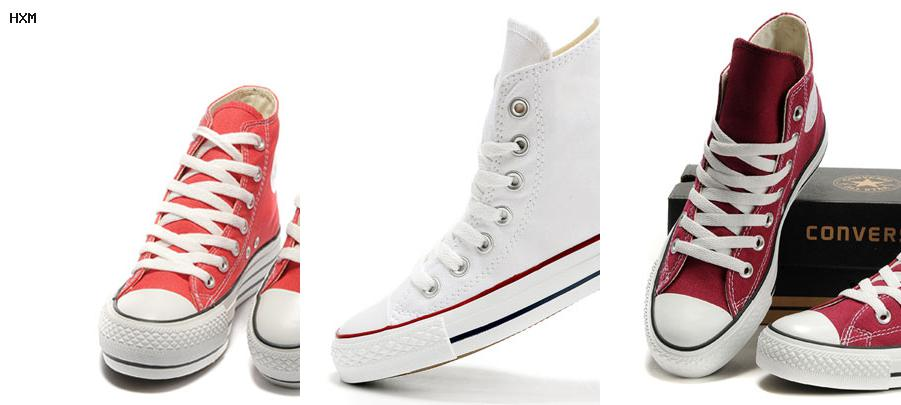 chaussure converse homme blanche