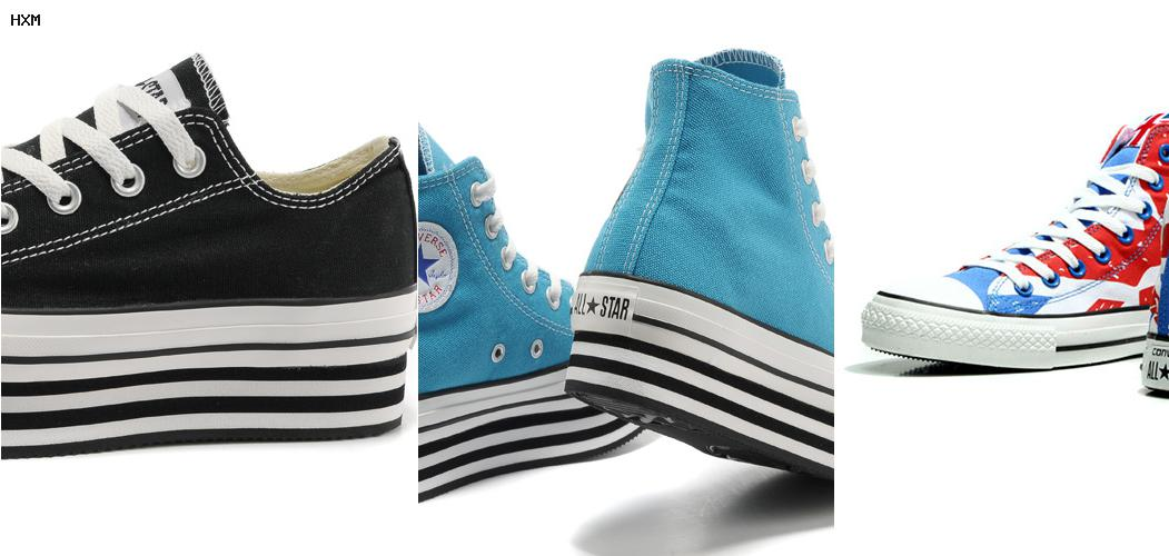 chaussures converse basse femme