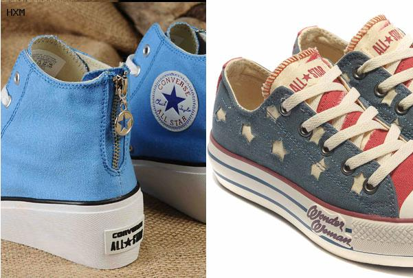 chaussures converse femme hiver