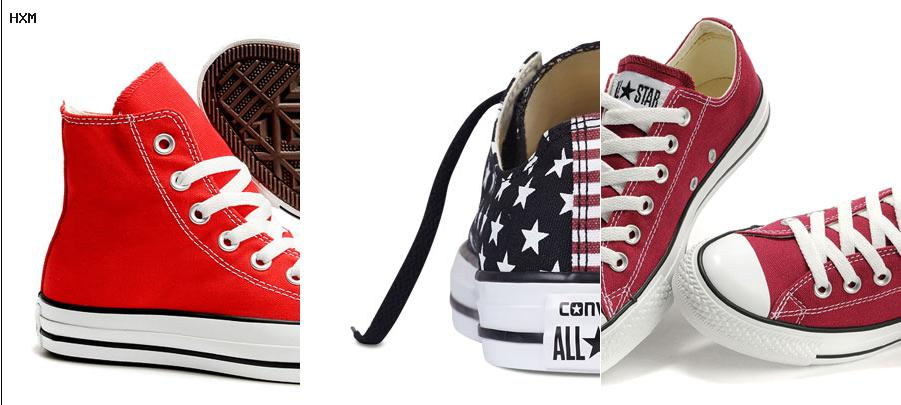 converse all star rouge 43