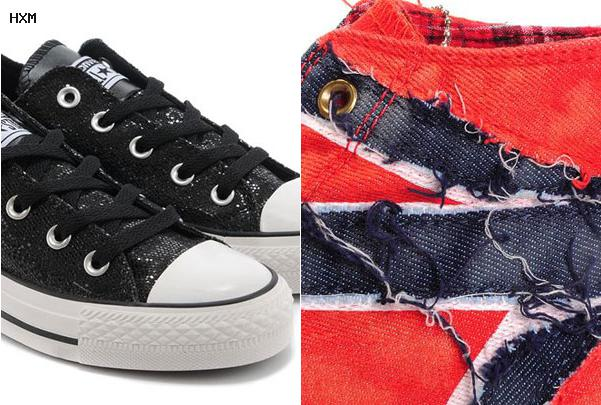 soldes converse cuir homme